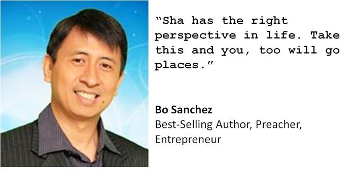 Sha Nacino, Bo Sanchez