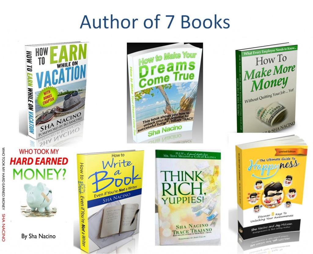 Sha Nacino and her books