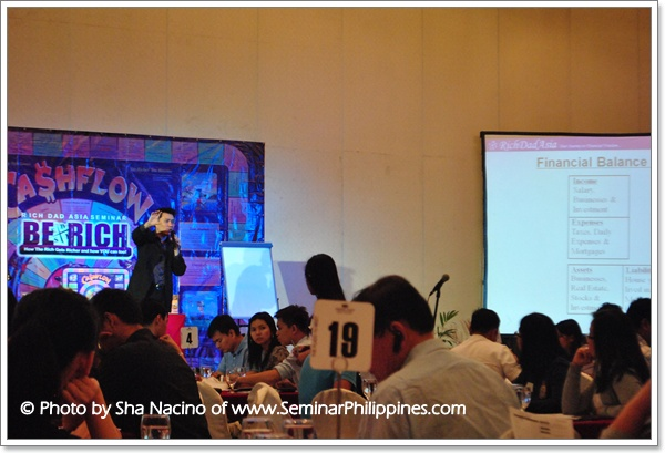 Rich Dad Asia Live in Manila - Cashflow 101