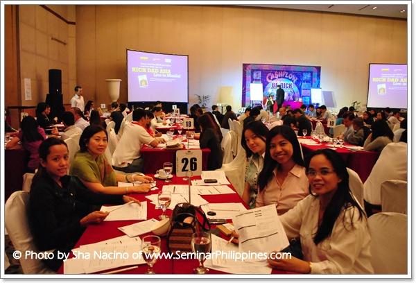 Rich Dad Asia Live in Manila 2011 -- Cashflow 101 Team 26