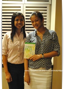 with 1999 Miss Universe Miriam Quiambao