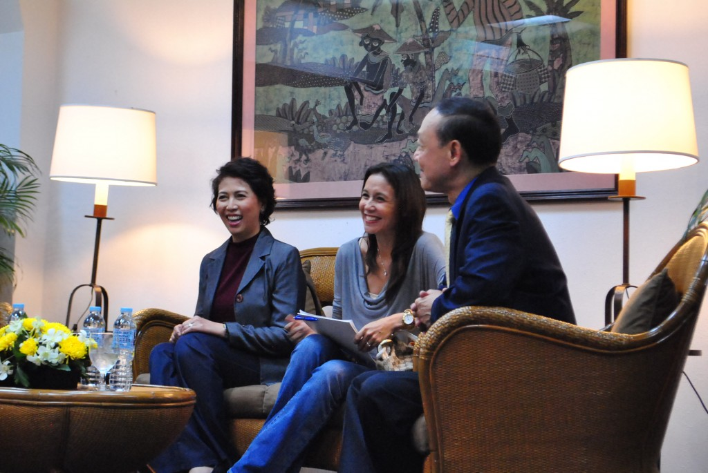 Nina Solomon, Christine Jacob Sandejas, Jose Mari Chan