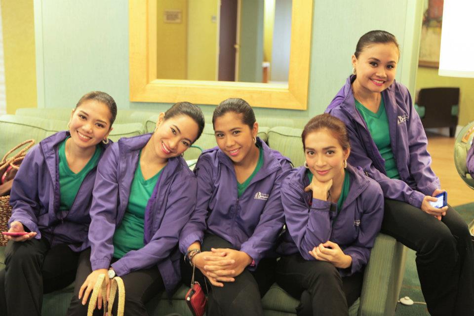 Marielle Benitez and the Bayanihan Dancers