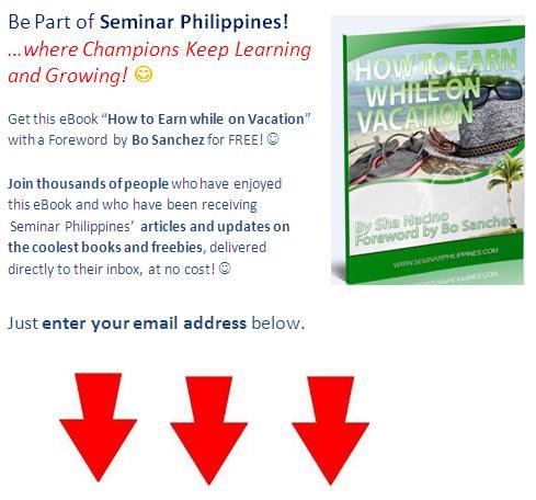 Seminar Philippines opt-in