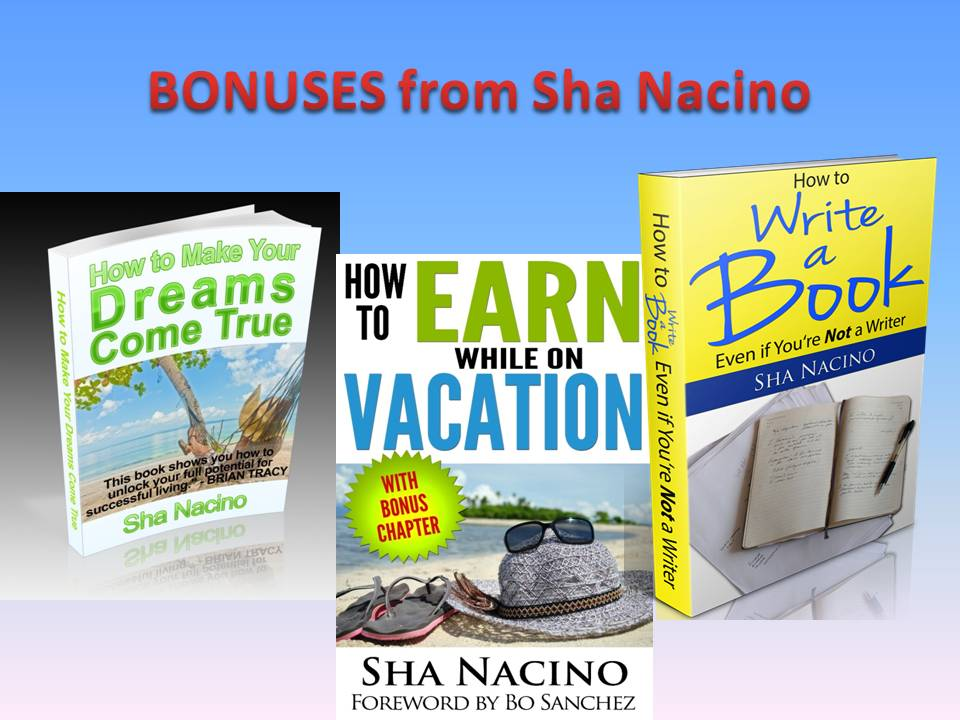 Sha's 3 Best eBooks