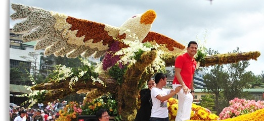 Panagbenga Festival 2013 Baguio City with Gary V 2