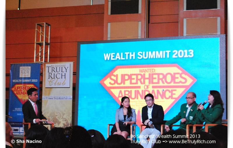 Truly Rich Club Wealth Summit 2013