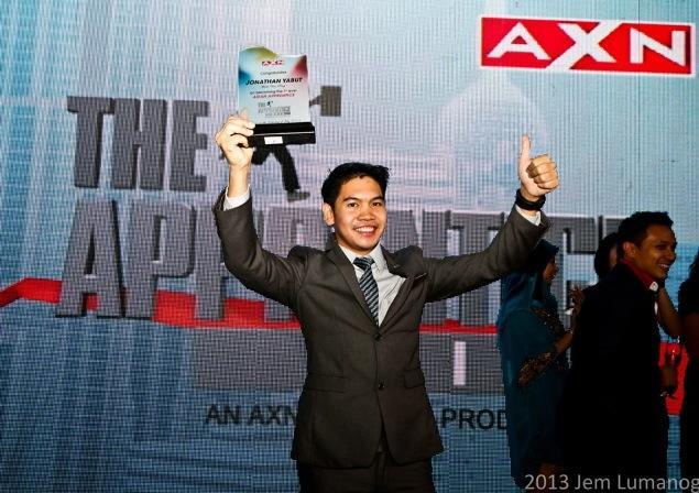 Apprentice Asia Winner Jonathan Yabut