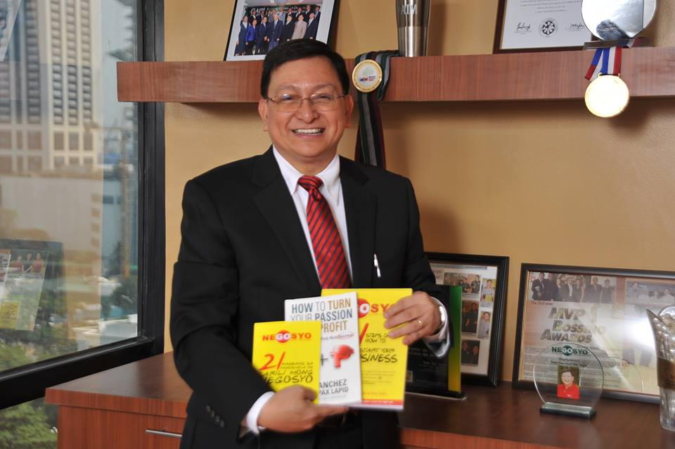 *Dean Pax Lapid and his 3 books -- all national best-sellers!