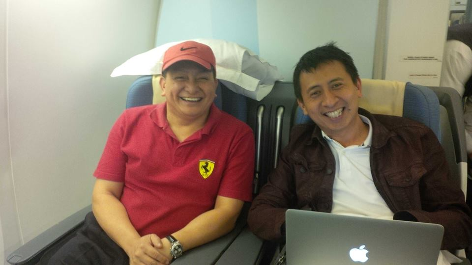 "Dean Pax Lapid and Bro. Bo Sanchez. They wrote a book called ""How to Turn Your Passion to Profits"""