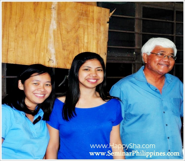 Ria Cantos-Moritcho, Sha Nacino, and Tito Tony Meloto of Gawad Kalinga
