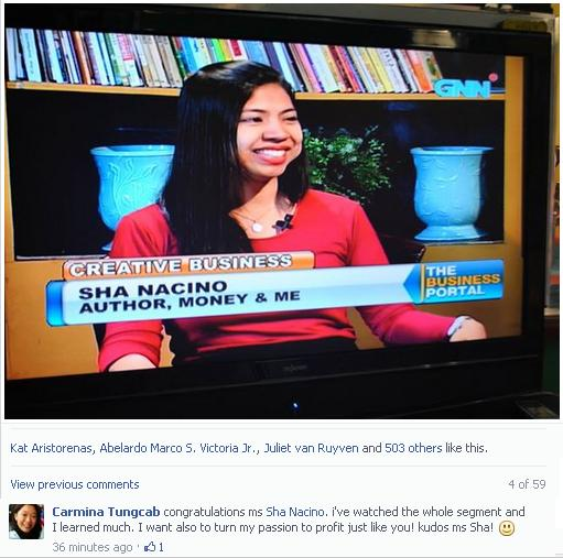 Sha Nacino TV Interview