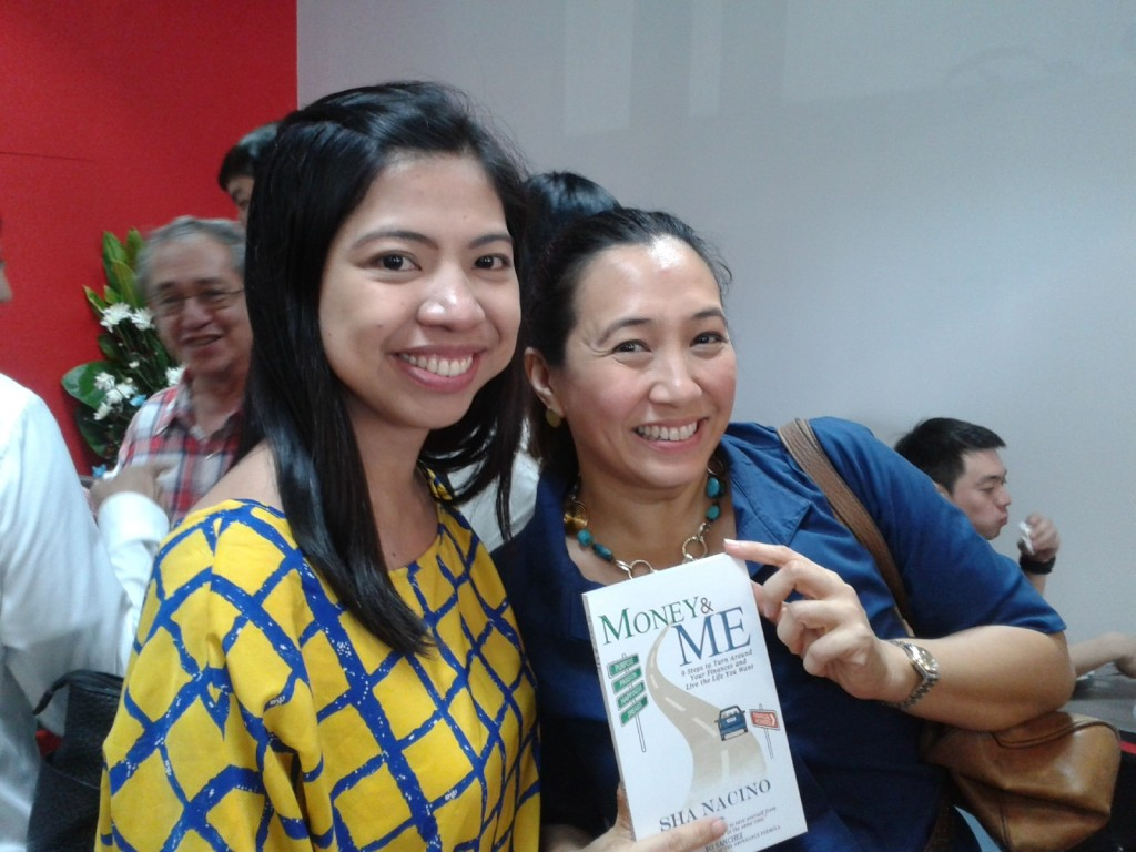 with Ms. Cheri Roberto, daughter of Dr. Ned Roberto