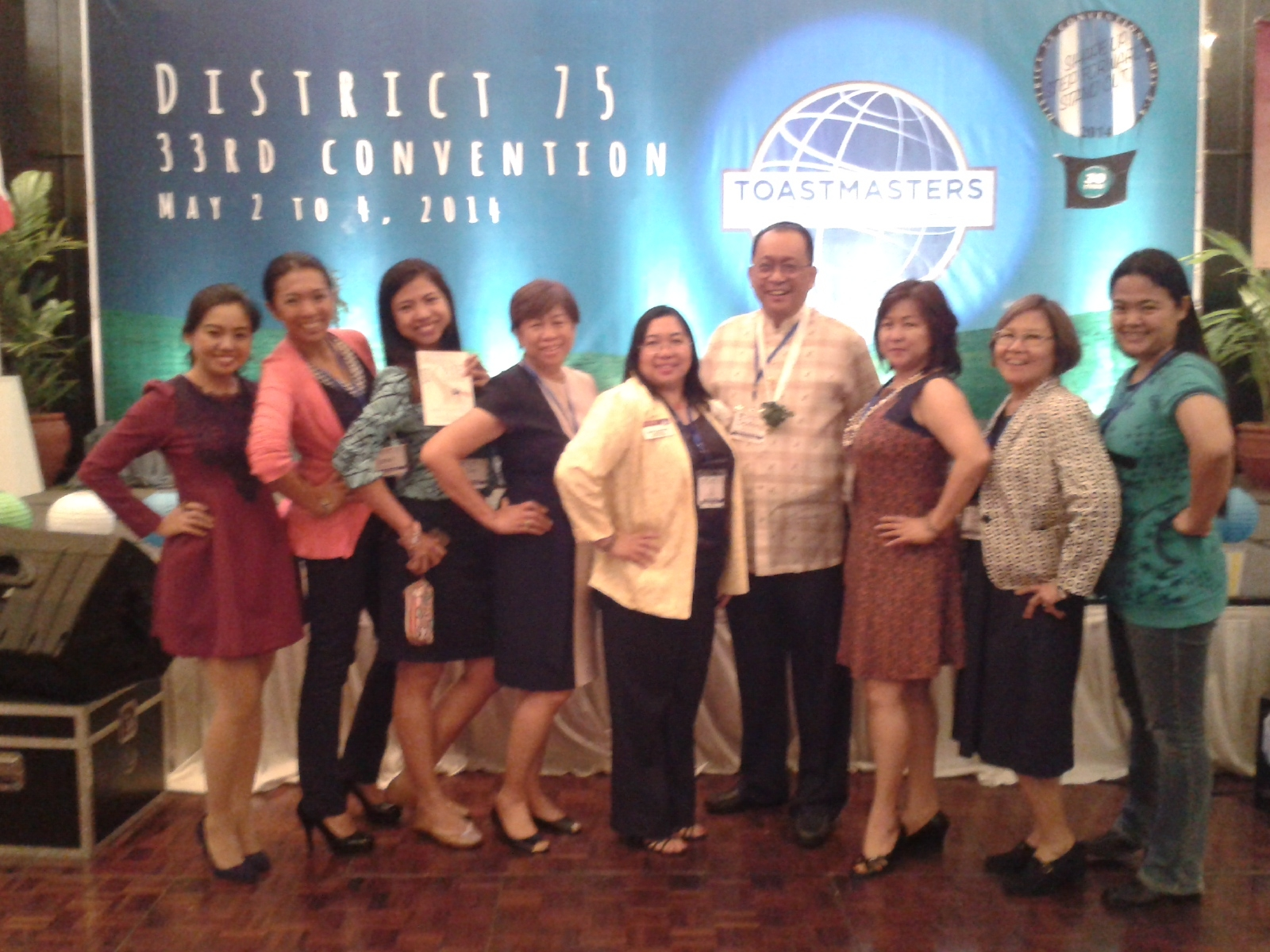 101 Things I Loved About Toastmasters District Convention 2014