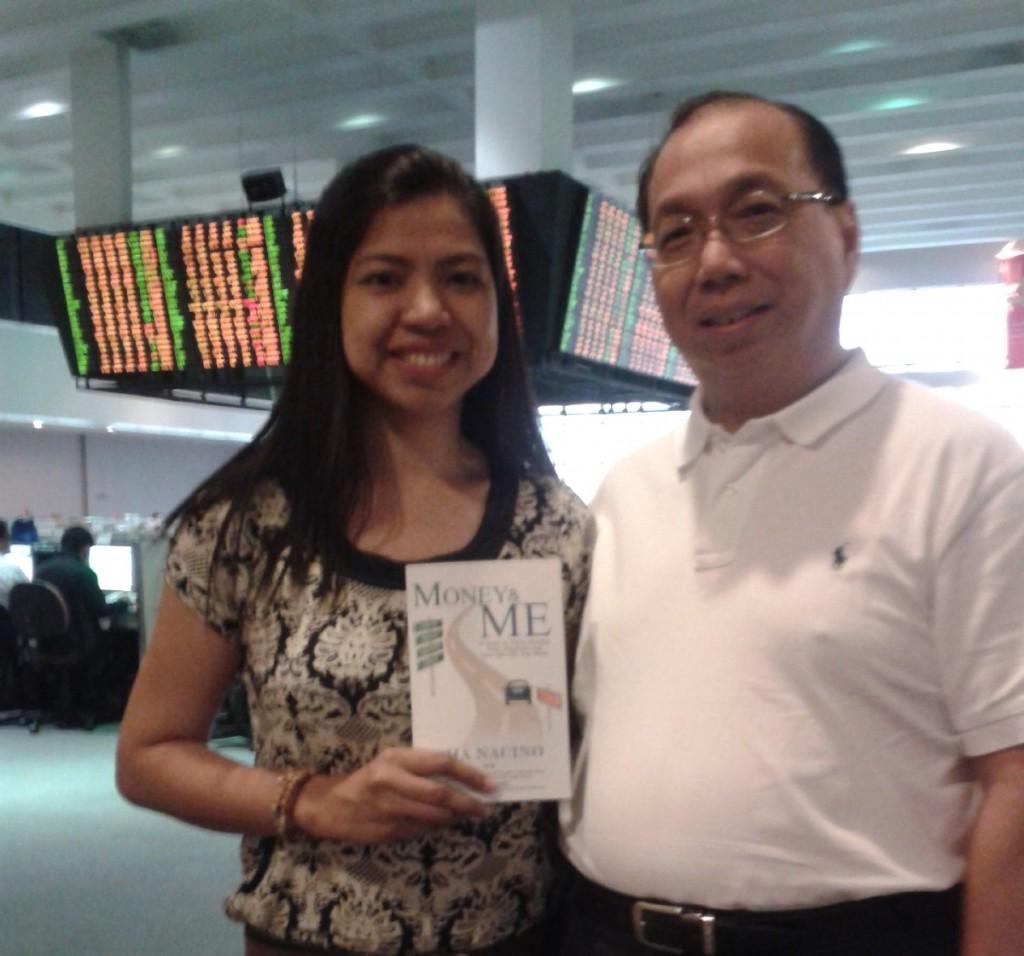 Sha Nacino and Mr. Edward Lee of COL Financial