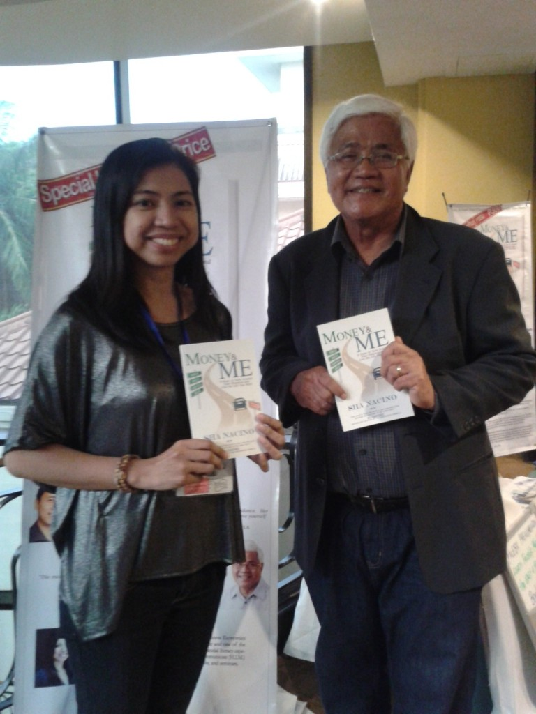 Sha Nacino with mentor Mr. Tony Meloto of Gawad Kalinga