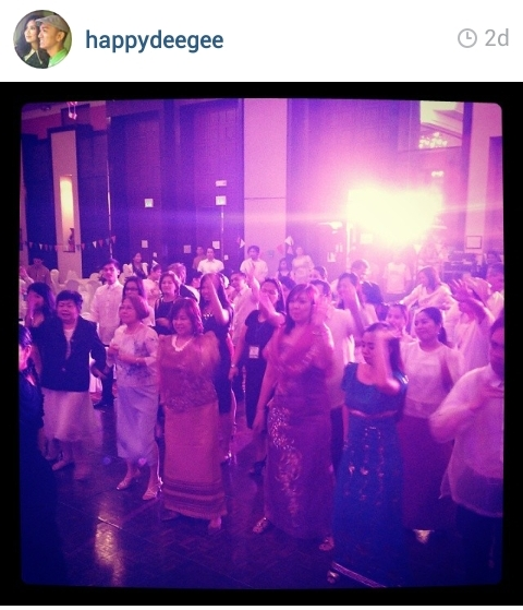 Dancing the night away :) Photo courtesy of Deegee de Guzman