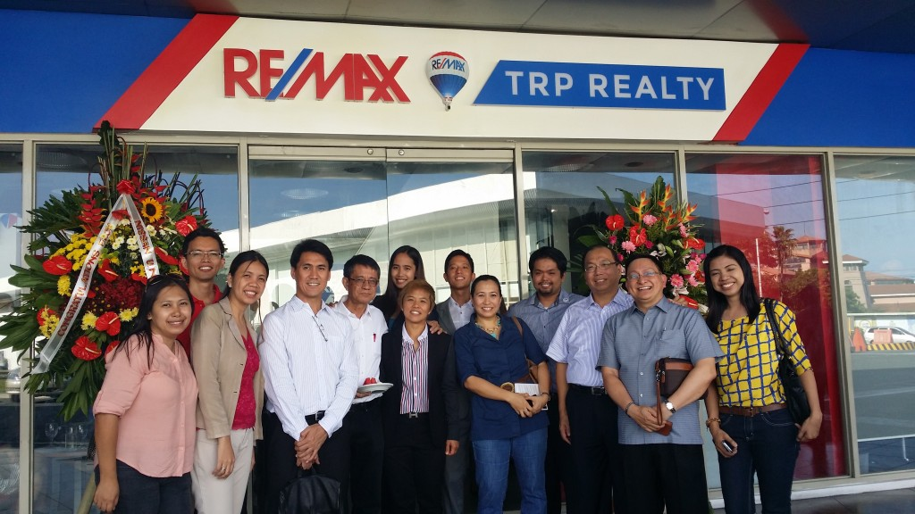 Blessing of Dr. Larry Gamboa's REMAX TRP Realty office in Alabang