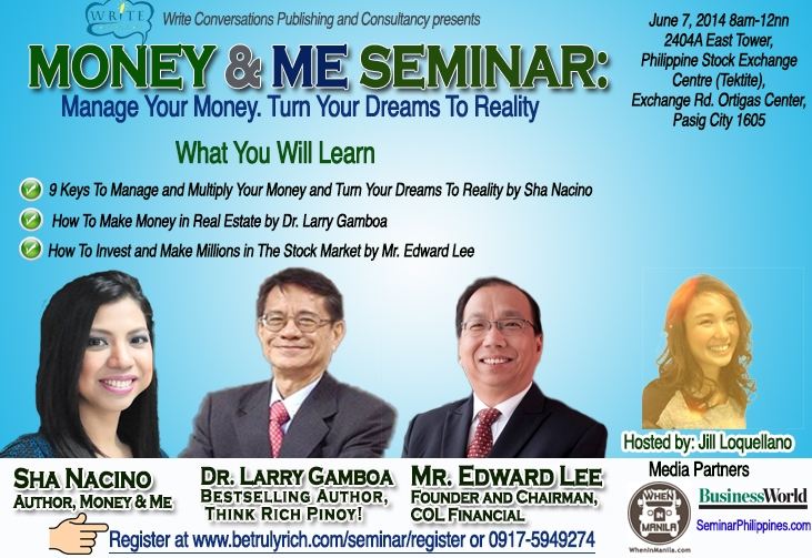 Money and Me seminar_with logos