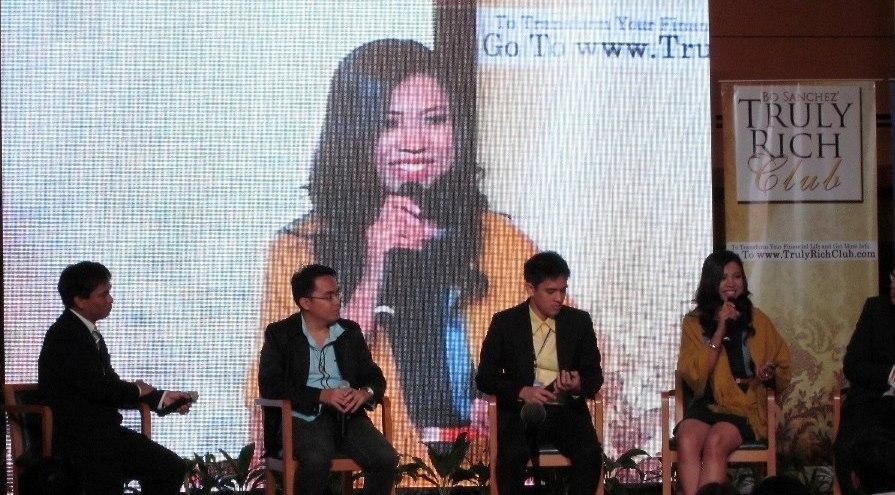 Sha at Bo Sanchez's Wealth Summit