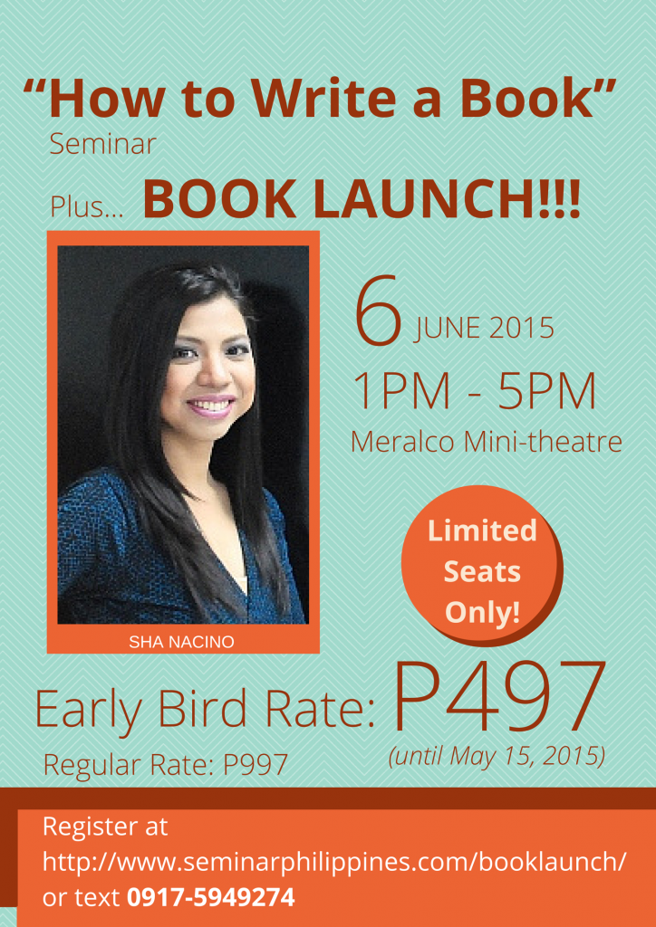 """How to Write a Book"" Seminar & Book Launch3"