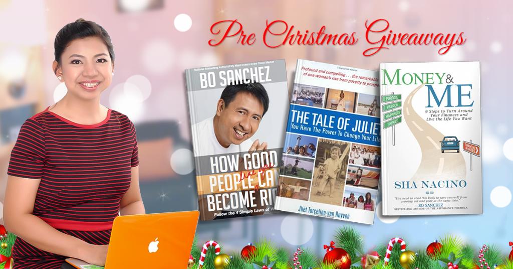 Sha Nacino books giveaway